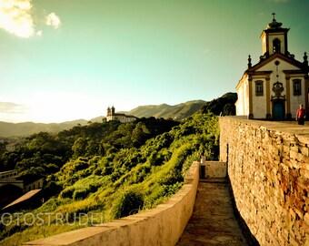 Minas Gerais Brazil Photograph. Once Upon a Hilltop in Ouro Preto