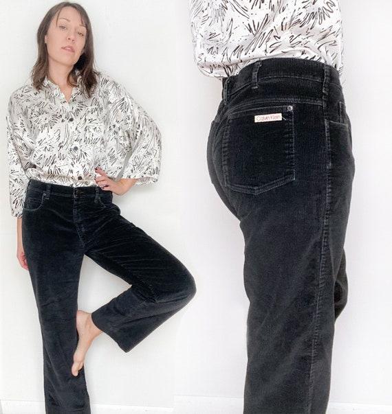 CALVIN KLEIN vintage 70s mens corduroy pants / 36