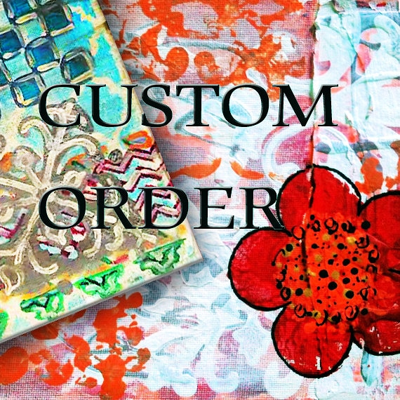 Custom, Multiple  and Wholesale Orders for Items on BeckyPaints PLEASE CONTACT ME  before you order here.