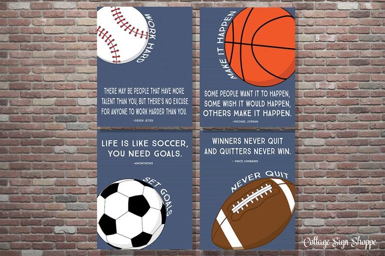 Sportcitaten : Motivationele sport decor sport citaten decor sport etsy