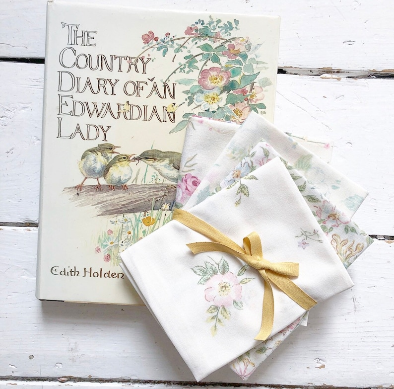 Book and Fabric Gift Set  Mothers Day Gift  Book Bundle  image 0