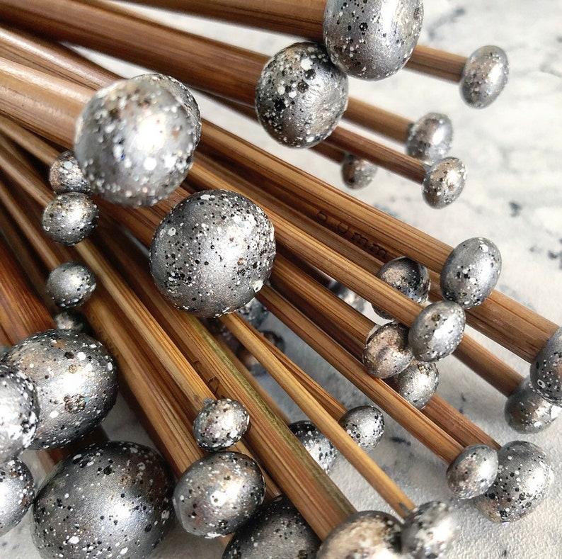 Moon Lover Gift Set Bamboo Knitting Needles Stylish Knitting image 0