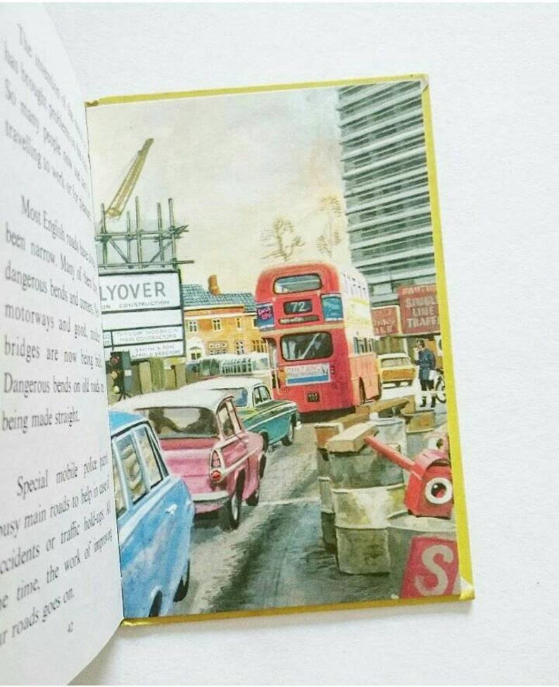 British Transport Through The Ages 1973 Vintage Ladybird image 0