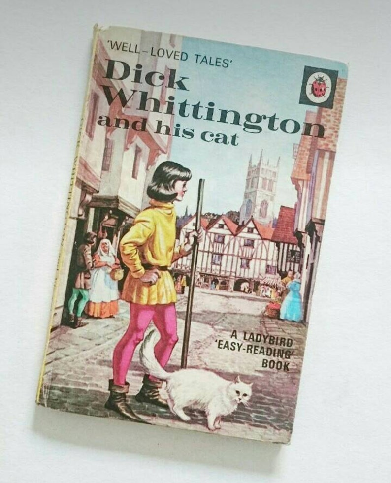 Vintage Ladybird Book Dick Whittington and his Cat Well Loved image 0