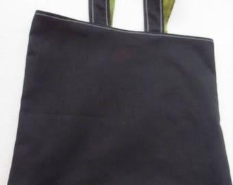 Lined Tote Bag - Men in Black