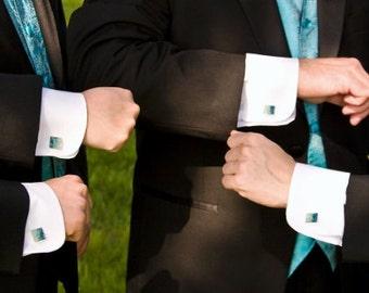 Custom  Cuff Links -  Wedding Groomsmen Gift