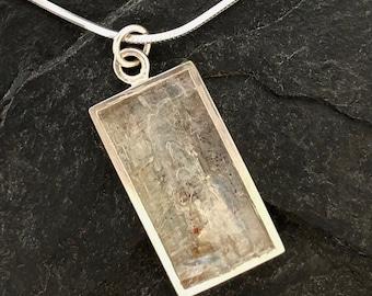 Kyanite Pendant - Mosaic Jewelry