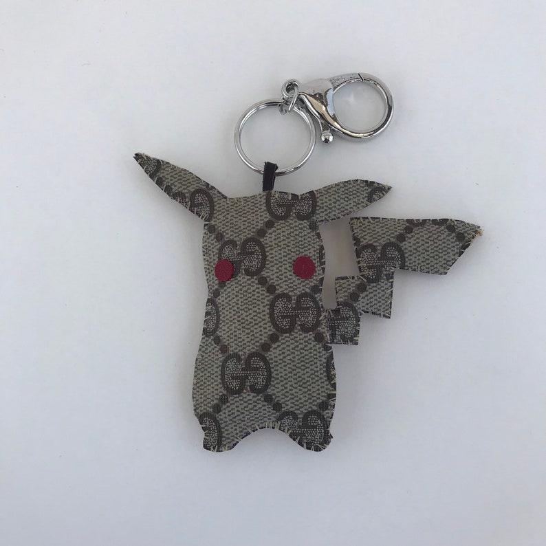 af4855b6b57f32 GUCCICHU pokemon Gucci bag charm keychain Gucci OOAK. Made to | Etsy