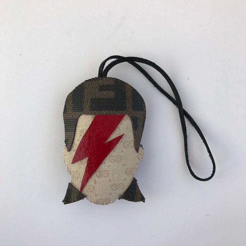 b028b7fa6864e9 Alladin Sane Bowie. Micro monogram Gucci / Fendi Zucca skull. | Etsy