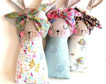 bunny tooth fairy pillow