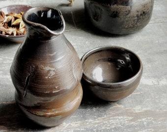 Sake Set // Wheel Thrown // One of a Kind