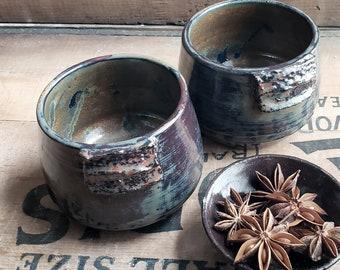 On the Rocks // Ceramic Tumblers // Rocks Glasses