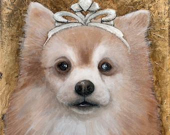Custom Dog Portrait -  I'll paint your dog from your photo!
