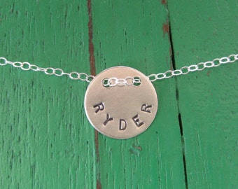 1/2 Inch Personalized Necklace