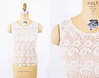 """ANNIVERSARY SALE // 1960s knit top 