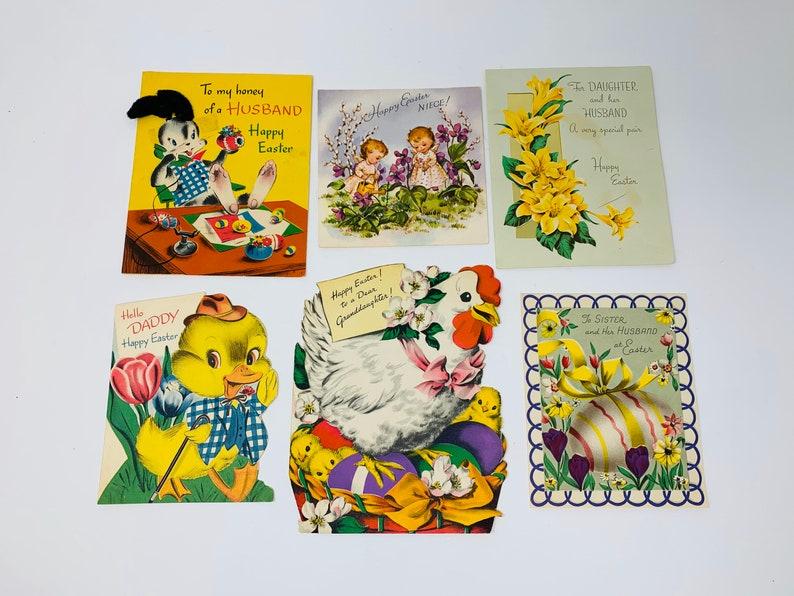 Vintage Easter Greeting Cards  Used image 0