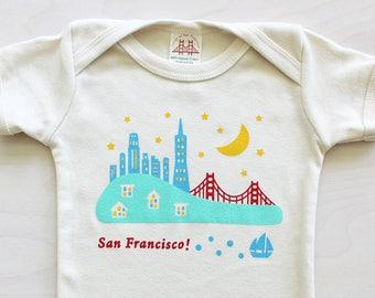 Smash Transit Baby Golden Gate San Francisco Creeper