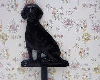 Dog Hook Cast Iron Black Leash Hook Home Decor
