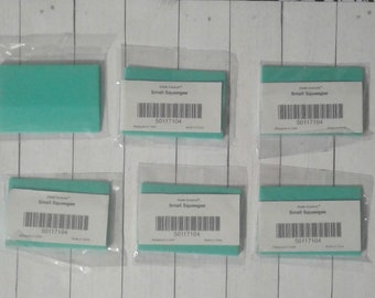 Chalk Couture Small Squeegees Lot Set of 6 Bar Code 50117104 Original Squeegee