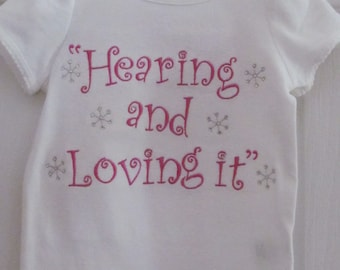 Cochlear Implant or Hearing Aid Shirts