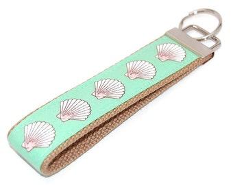 Seashell Key Wristlet