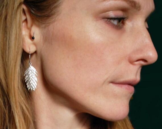 Sterling Silver Northern Sea Oat Earrings