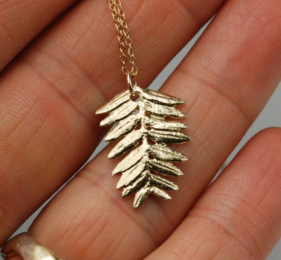 Gold High Line Flora Necklace