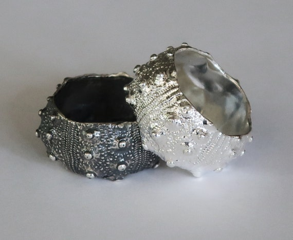 Sterling Silver Knobby Sea Urchin Ring