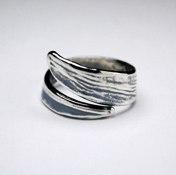 Sterling Silver Curl Ring-Ready to Ship