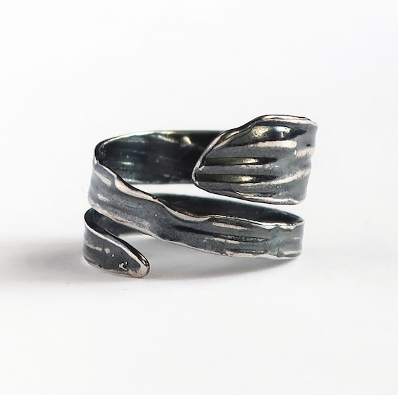 Sterling Silver Wrap Ring #2 -Ready to Ship