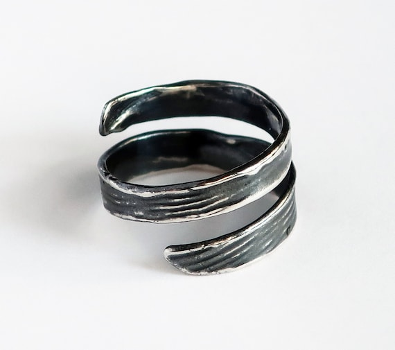 Sterling Silver Wrap Ring #1 -Ready to Ship