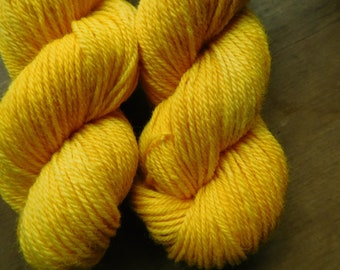 Buttercup~ DK Weight 100%  Coopworth Yarn