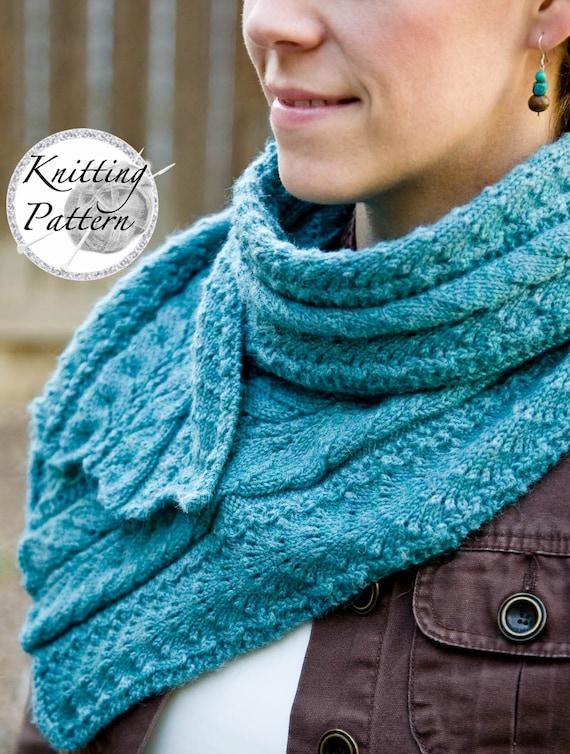 Knitting Pattern For Womens Scarf Fancy Mae