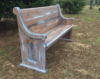 Church Pew Etsy