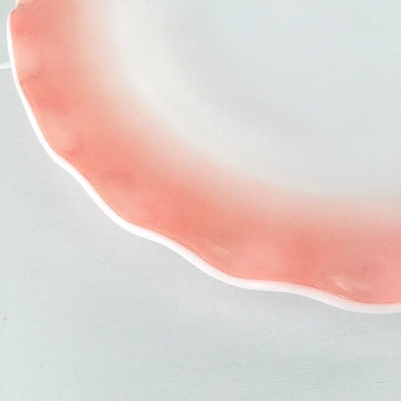 Hazel Atlas Pink Crinoline Dinner Plate