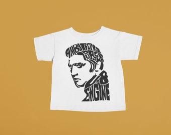 Elvis Presley Baby or Kids Tshirt | Hand printed graphic tee unisex toddler baby kid