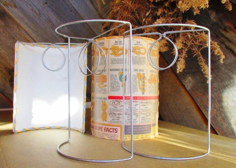 Grande scudo mezza lampada ombra cornici cornici da parete etsy