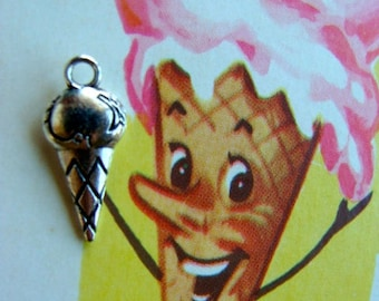Sweet Kitsch Ice Cream Very Detailed Charms Stampings