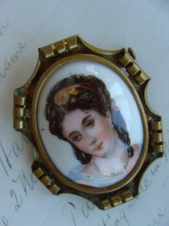 Antique Edwardian French Limoges Porcelain Victori