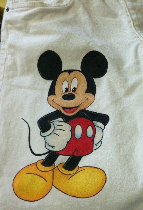 Adult Size Custom Clothing Disney Minnie Or Mickey Characters Etsy