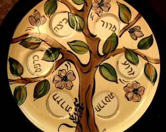 SEDER PLATE Tree of Life