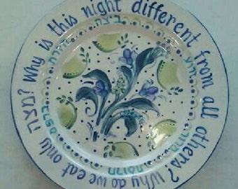 SEDER Platter for Passover