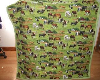 Horses to Pasture Quilt