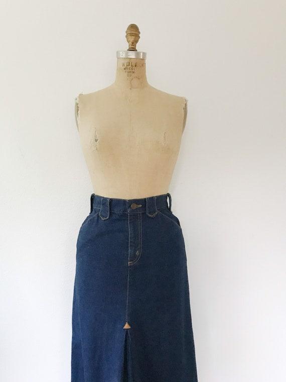 vintage denim skirt / Ralph Lauren Western wear /… - image 4