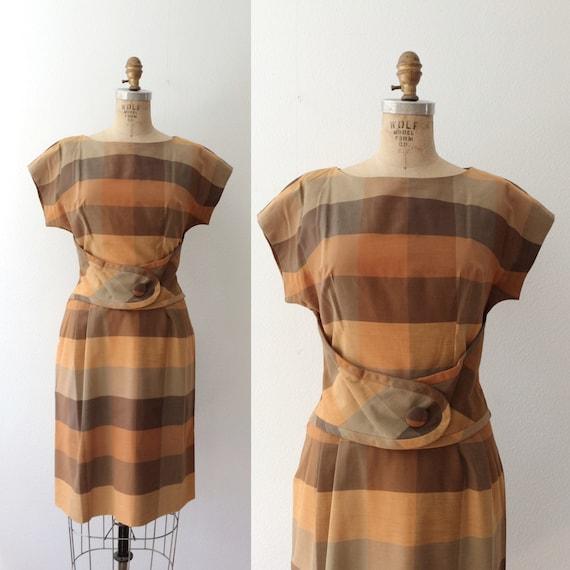 plaid dress / cotton plaid dress / Mathilde dress
