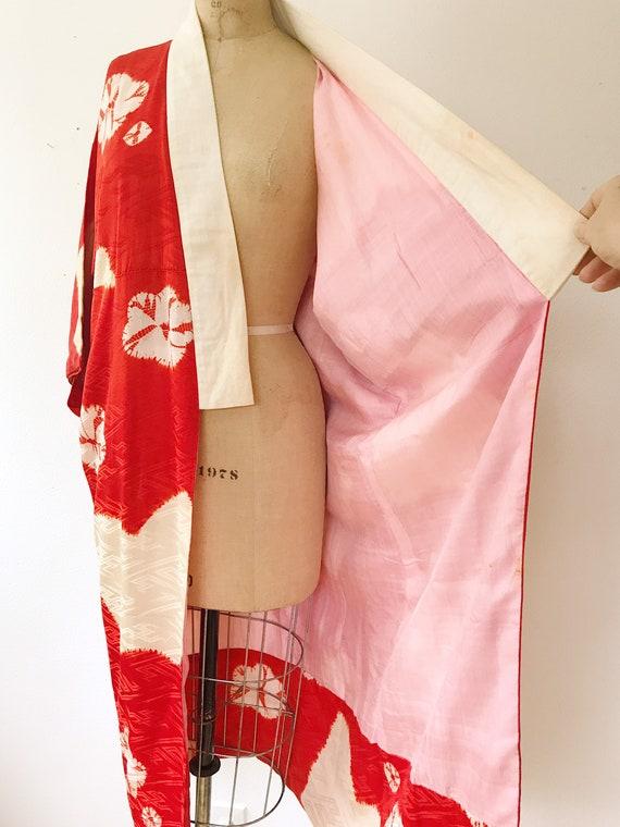vintage kimono robe / vintage silk kimono / Shuir… - image 7