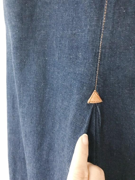 vintage denim skirt / Ralph Lauren Western wear /… - image 5