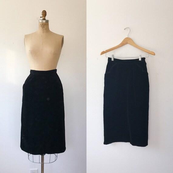 1950s skirt / vintage 50s skirt / Nardis of Dallas
