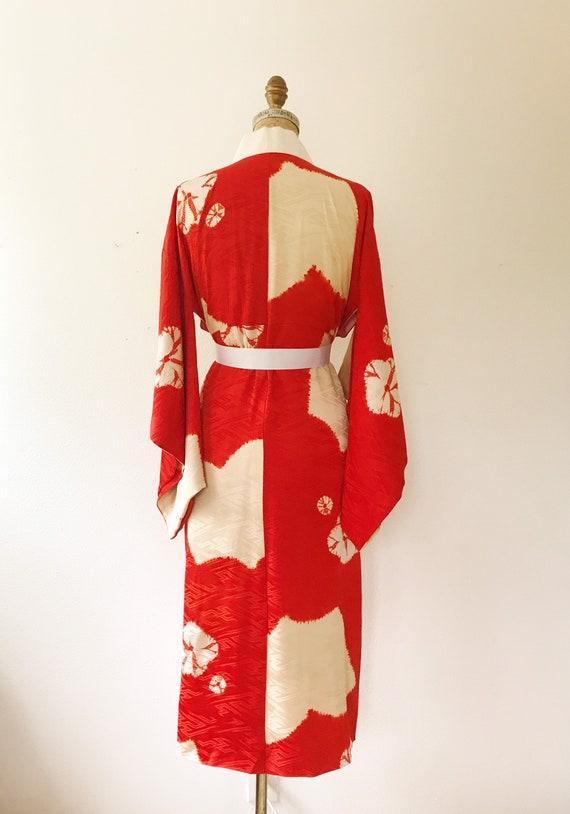 vintage kimono robe / vintage silk kimono / Shuir… - image 6