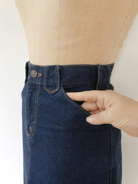 vintage denim skirt / Ralph Lauren Western wear /… - image 7